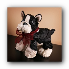 scented boston terrier candle